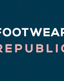 FOOTWEAR REPUBLIC new logo text only